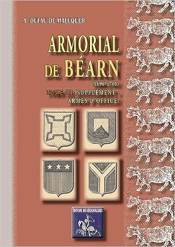 Télécharger Des Livres En Ligne En Espagnol Armorial De Béarn Tome
