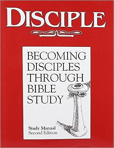 Amazon.com: Disciple: Becoming Disciples Through Bible Study ...