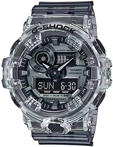 Casio G-Shock GA700SK-1A Watch - Clear/Grey