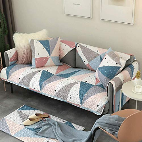 Sofa Ice - YLCJ ICE Silk Sofa Cushion Towel Cover Sofa Cushion Non Slip Simple Sofa Towel European Style Sofa Cover (Size: 80x180cm (31x71inch))