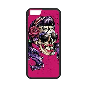 Diy Colorful Sugar Skull Phone Case Cover For SamSung Galaxy Note 3 Black Shell Phone JFLIFE(TM)