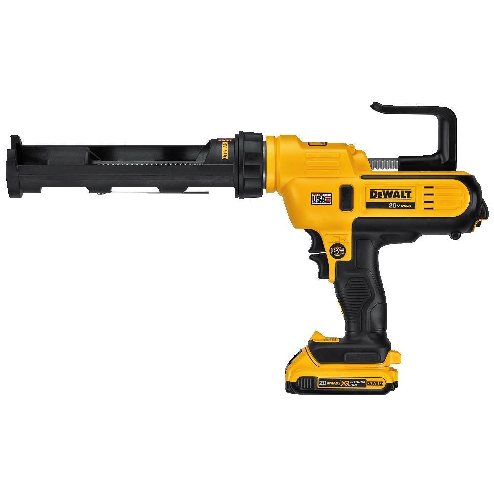 DEWALT DCE560D1 20V MAX 10oz/300ml Adhesive Gun Kit