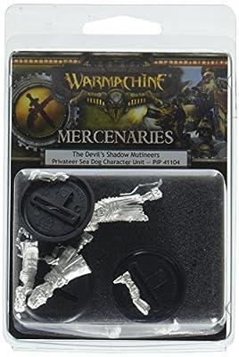 Privateer Press War Machine Mercenaries Devils Shadow Mutineers Kit from LIOU8