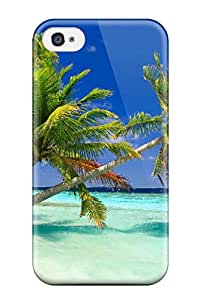 Christmas Gifts Excellent Design Maldives Holidays Phone Case For Iphone 4/4s Premium Tpu Case 7627103K36203552