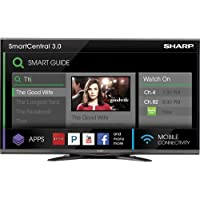 Sharp AQUOS LC-60SQ15U 60 3D Ready 1080p LED-LCD TV - 16:9 - HDTV 1080p - 240 Hz - ATSC - 1920 x 1080 - Surround Sound - 4 x HDMI - USB - Ethernet - Wireless LAN - DLNA Certified - PC Streaming - Internet Access - Media Player
