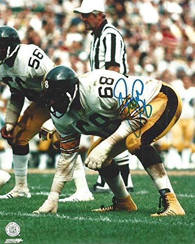 - LC Greenwood Steelers 8-2 8x10 Autographed Photo - Certified Authentic