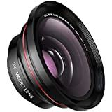 37MM 0.39x AOOE Professional HD Wide Angle Lens (w/Macro Portion) for Camcorder Camera No Distortion