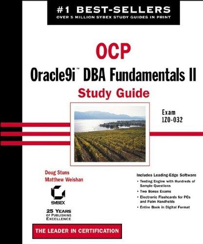 OCP: Oracle9i DBA Fundamentals II Study Guide