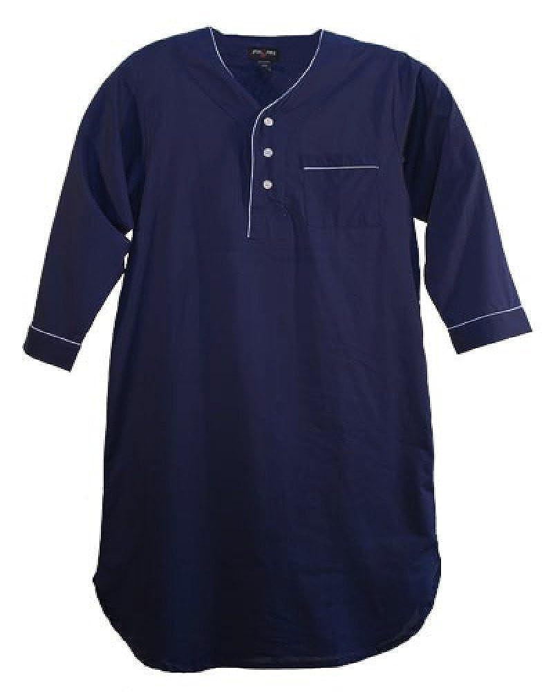 Fox Fire Big and Tall Broadcloth Night Shirt