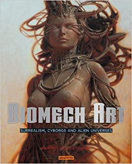 Fantasy Biomech Art