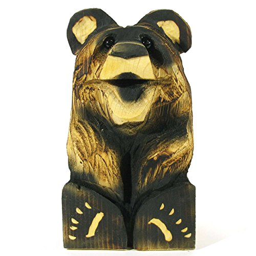 chainsaw carved bear - 2