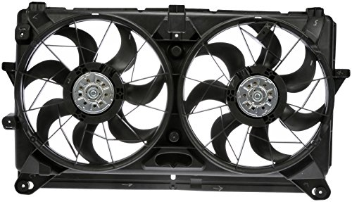 Dorman 620-653 Dual Fan Assembly for - Tahoe Fan Chevrolet Shroud Radiator