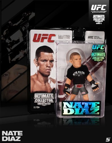 (Round 5 UFC Ultimate Collector Series 12 Limited Edition Action Figure-Nate Diaz)