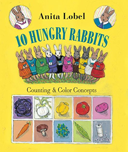 10 Hungry Rabbits: Counting & Color