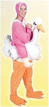 Joker J462 – 001 – Disfraz cigüeña con bebe de adulto, talla ...