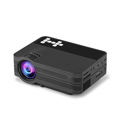 YTDDD Proyector, Mini proyector para el hogar, proyector HD ...