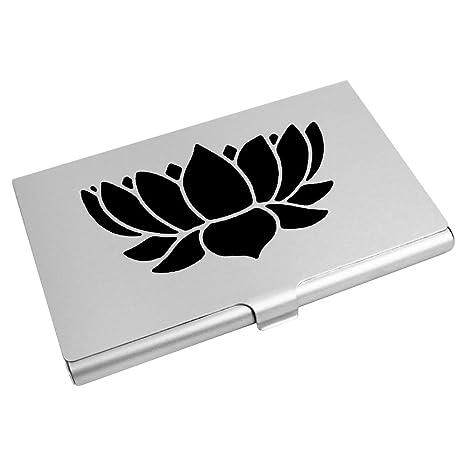 Azeeda Fleur De Lotus Porte Carte Visite Crdit