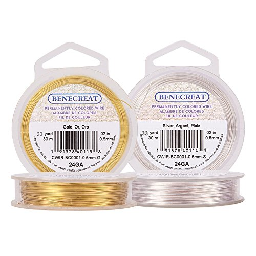BENECREAT 2 Rolls 24-Gauge