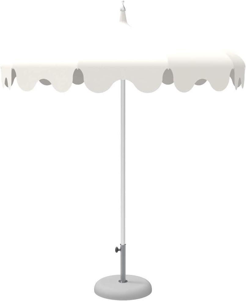Dafne Italian Design - Sombrilla de estilo oriental (220 cm de diámetro)