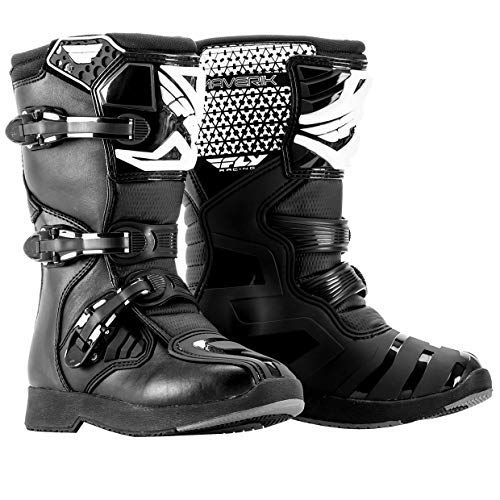 Fly Racing 2019 Youth Maverik Boots (1) (Black)
