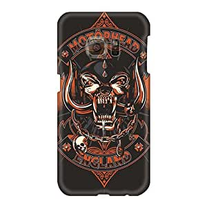Shock-Absorbing Cell-phone Hard Covers For Samsung Galaxy S6 (nTC14340xbzL) Custom Vivid Motorhead Band Pictures