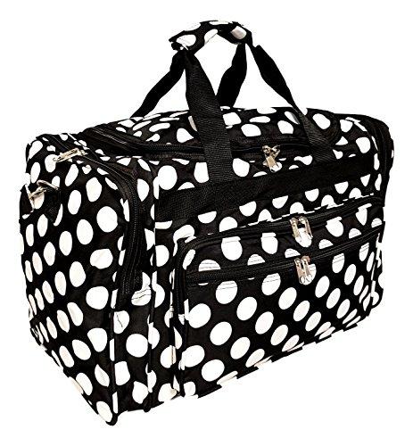 19-Fashion-Multi-Pocket-Duffle-Bag-Personalization-Available-Blank-Black-Large-White-Dot