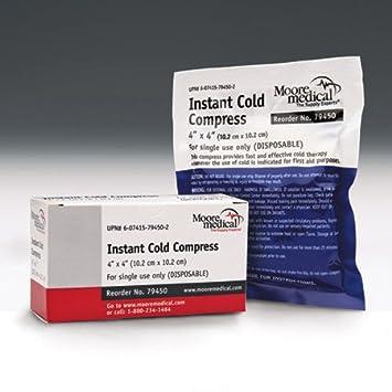 Amazon.com: Moore médico compresa de frío instantáneo ...
