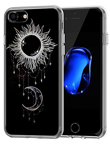 (Slim Case for iPhone 8/iPhone 7 Protective 4.7 inch Ancient Tatoo Pattern)