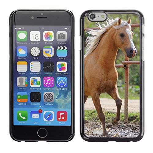Premio Sottile Slim Cassa Custodia Case Cover Shell // V00003285 cheval de ferme // Apple iPhone 6 6S 6G 4.7""