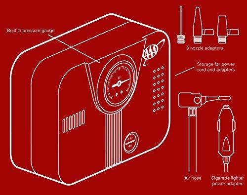 AAA Lifeline 300 PSI 12 Volt DC Air Compressor by AAA (Image #1)