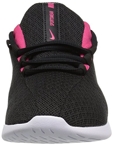 Nike Girls' Viale (GS) Running Shoe,  Black/Rush Pink-White, 3.5Y Youth US Big Kid by Nike (Image #4)