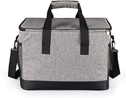 Zaino Picnic 33L Borsa da Pranzo Impermeabile Picnic Tote Bag Termica di Raffreddamento Isolato Auto Portatile Tote Storage Bag Cooler per Ufficio Picnic BBQ Camping  UE8Ke