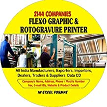 Flexographic and Rotogravure Printer Companies Data