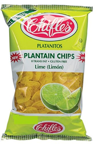 Chifles Plantain Chips Lime (Limon) 10 oz. Bag ()