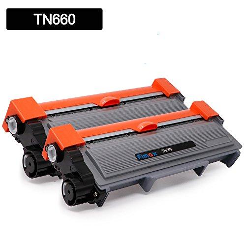 Compatible Brother TN660 TN-660 TN630 TN-630 High Yield Black Toner Cartridge for Brother HL-L2340DW HL-L2300D HL-L2380DW MFC-L2700DW DCP-L2520DW DCP-L2540DW MFC-L2720DW MFC-L2740DW (2 Pack)