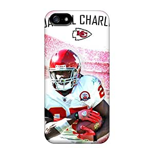 Iphone 5/5s LIY18121PVOw Custom Stylish Kansas City Chiefs Series Protective Cell-phone Hard Covers -AnnaDubois