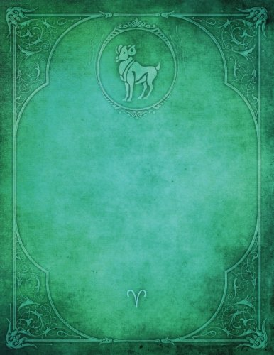Monogram Aries Blank Sketchbook: Art Sketch Pad Notebook (Monogram Elegance 150 Sketch) (Volume 70) ebook