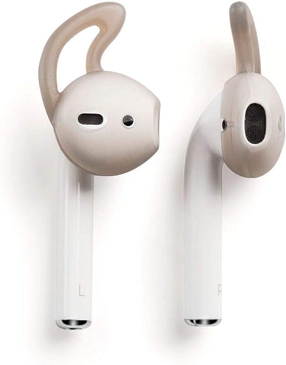 StyleDesign Kompatibel mit Apple AirPods Pro /& AirPods 2 Ohrb/ügel EarHooks Perfekt f/ür Sport und Outdoor-Aktivit/äten,durchsichtig 1 Ohrhalter