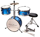 Spectrum Ail 620B 3-Piece Junior Drum Set with 8-Inch Crash Cymbal and Drum