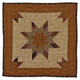 Autumn Splendor Wall Hanging Quilt 18 Inches by 18 Inches 100% Cotton Handmade Hand Quilted Heirloom Quality
