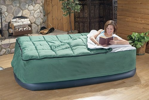 Queen Airbed Fitted Cover / Sleeping Bag, Outdoor Stuffs