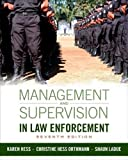 Management and Supervision in Law Enforcement 7th Edition