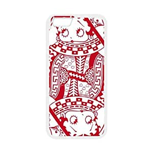 Boop Queen Of Hearts iPhone 6 Plus 5.5 Inch Cell Phone Case White Protect your phone BVS_692117