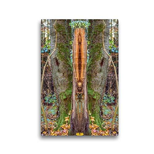 CALVENDO Toile Murale en Tissu de qualité supérieure Motif Totem 30 x 45 cm