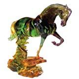 Beau Verre Limited Edition Arabian Horse Sculpture, Large
