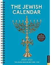 The Jewish Calendar 16-Month 2020-2021 Engagement Calendar: Jewish Year 5781