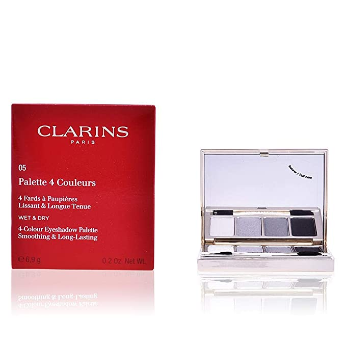 Amazon.com: Clarins 4 Colour Eyeshadow Palette (Smoothing ...