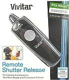 JIANISI Remote Shutter Release Cord for Nikon D300, D200, D2x, D3, D700 Digital SLR Cameras