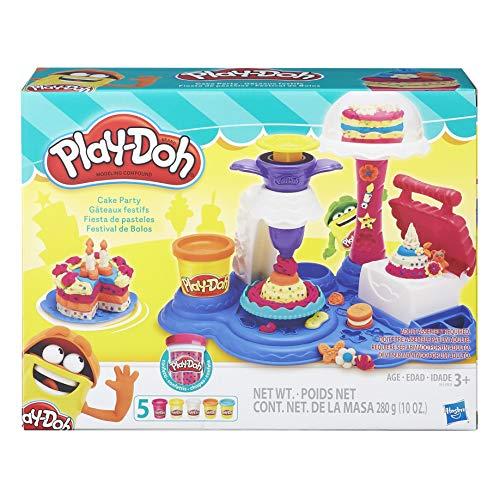 Conjunto Massinha Play-Doh Festa De Bolos - Hasbro