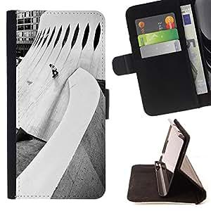Jordan Colourful Shop -Skateboard HipPop Man Funny -- Leather Case Absorci¨®n cubierta de la caja de alto impacto FOR HTC One M9 ---